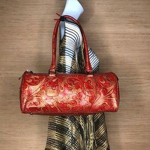 💼 Wilson Leather Italian Leather Handbag
